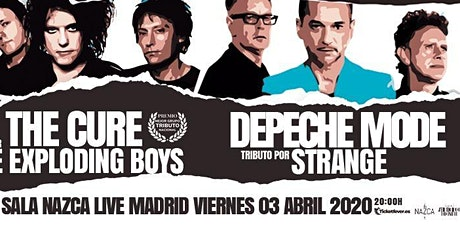 Tributo a The Cure + Depeche Mode en Madrid entradas