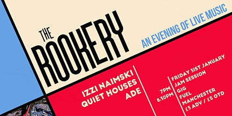 The Rookery: Jam Session & Gig at Fuel, Manchester tickets