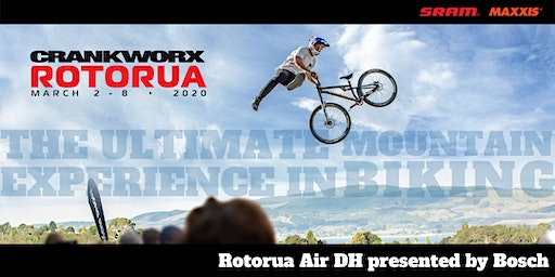 WAIT LIST - Crankworx Rotorua Air DH presented by Bosch 2020