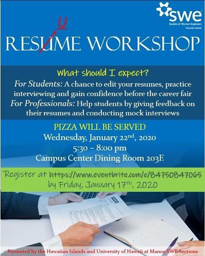 Resume and Interview Workshop image