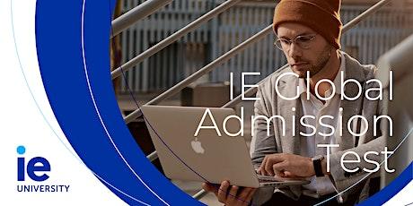 IE Global Admissions Test - Lisbon bilhetes