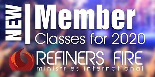 New Members Class at Refiner's Fire Ennis - April