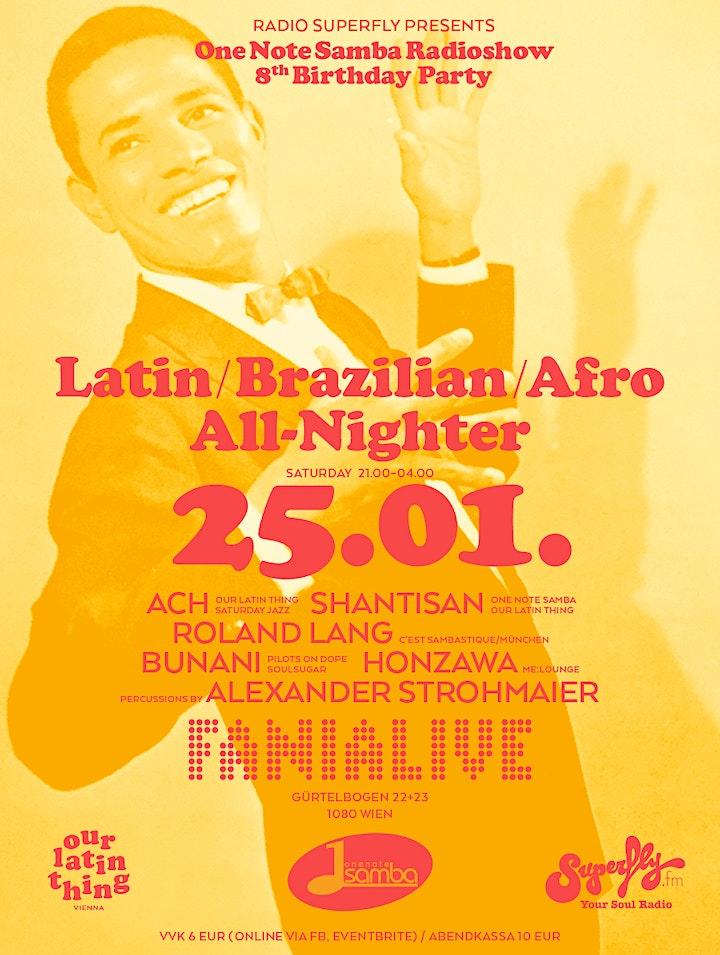 One Note Samba Radioshow 8th Birthday Party: Bild