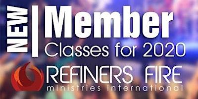 New Members Class at Refiners Fire Ennis - Septem