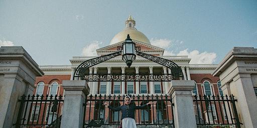 Anne Hutchinson Tour of Boston (Feb. 2020)