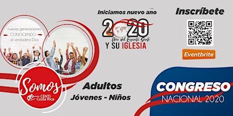 Congreso Nacional CENTI Costa Rica 2020 entradas