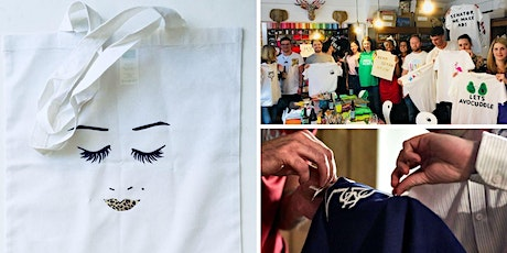Make your own T-shirt, Tote Bag or Baby Grow (with BYOB!) tickets