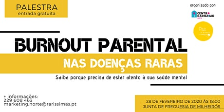 Burnout Parental nas Doenças Raras tickets
