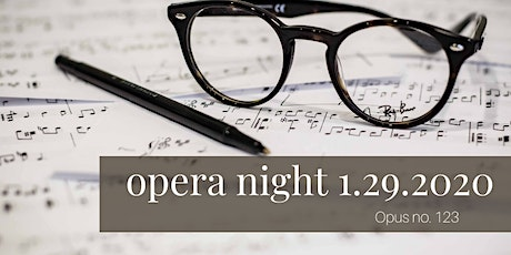January opera night at Servino tickets