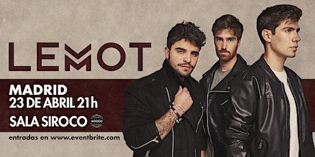 LEMOT - Concierto Madrid - Sala Siroco entradas