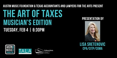 The Art of Taxes: Musician's Edition tickets