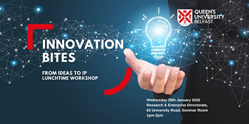 INNOVATION BITES WORKSHOP @QUEEN'S