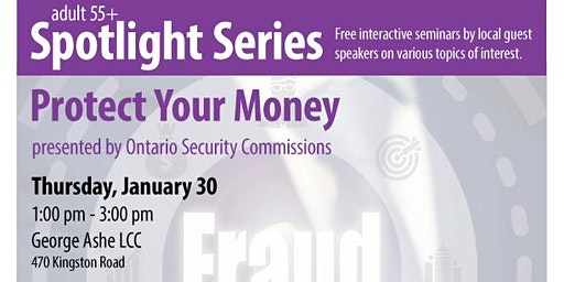 Protect Your Money  - 55+ Free Spotlight Series