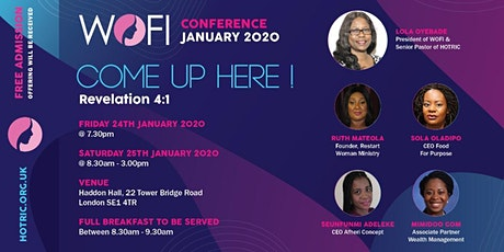 WOMEN OF FAITH INTERNATIONAL ANNUAL CONFERENCE JANUARY 2020 tickets