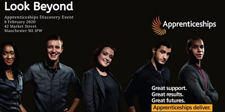 Look Beyond: Apprenticeships Discovery Event tickets