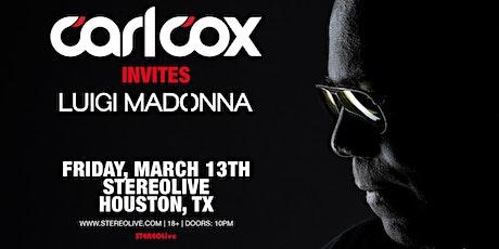 Carl Cox Invites - Stereo Live Houston