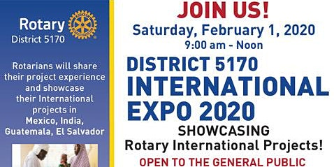 ROTARY DISTRICT 5170 PRESENTS, ROTARY INTERNATIONAL EXPO AND PROJECT FAIR