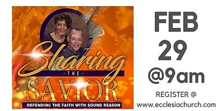 Sharing the Savior - Evangelism Seminar tickets