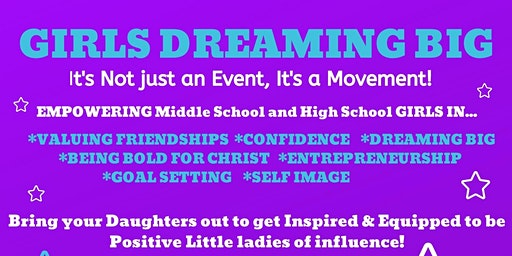 Girls Dreaming Big Lunch, Learn, & Laugh