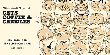 Candle Making Workshop w/ Ollivene Candle Co. @ Nine Lives Cat Cafe tickets