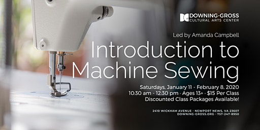 Introduction To Machine Sewing with Amanda Campbell