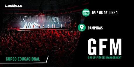 GFM (Group Fitness Magenament) - CAMPINAS ingressos