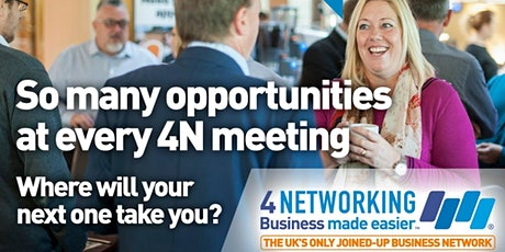 Preston business networking lunch tickets