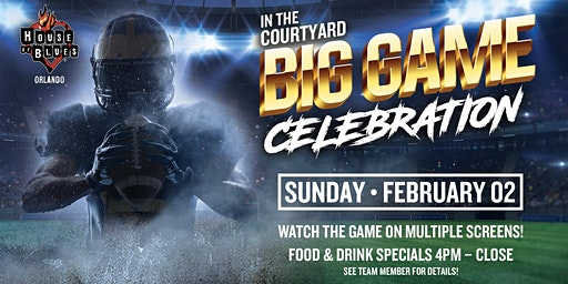 Big Game Celebration - Viewing Party