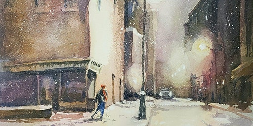 Colors of Winter with Watercolor Artist John Kelty
