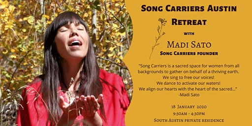 Song Carriers Austin Retreat with Madi Sato