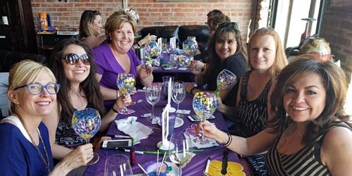 Wine Glass Painting Class at La Fleur's Winery 3/8 at 2pm.