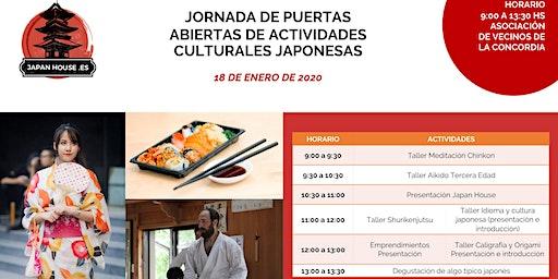 Puertas Abiertas de Actividades culturales Japonesas