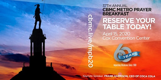 37th Annual CBMC Metro Prayer Breakfast