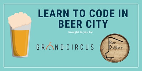 Intro to Coding Workshop at Bier Distillery  tickets