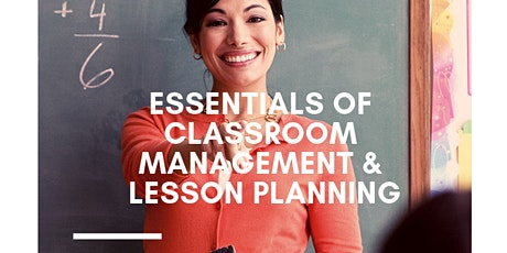 Become a Teacher Session Part 2: Classroom Management & Lesson Planning tickets