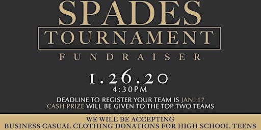Spades Tournament Fundraiser