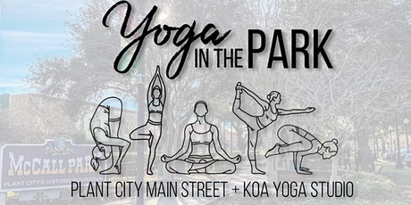 Yoga in the Park presented by Plant City Main Street tickets