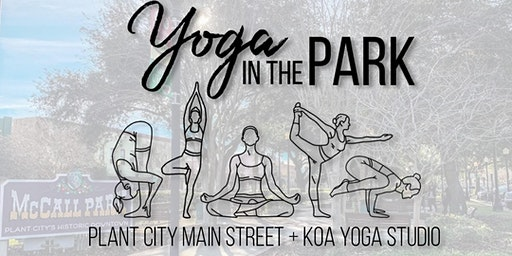 Yoga in the Park presented by Plant City Main Street