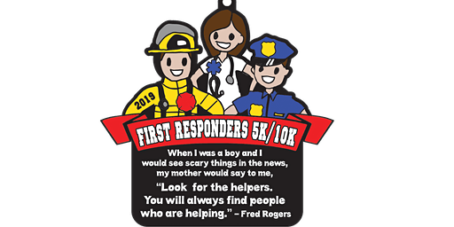 Only $9! First Responders 5K & 10K - Tulsa