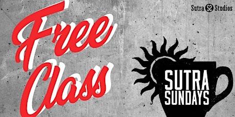 Sutra Sundays | Complimentary Yoga tickets