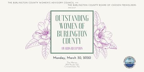 Outstanding Women of Burlington County Awards Dinner tickets