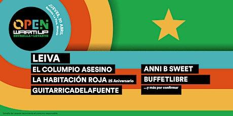 OPEN WARM UP Estrella de Levante tickets