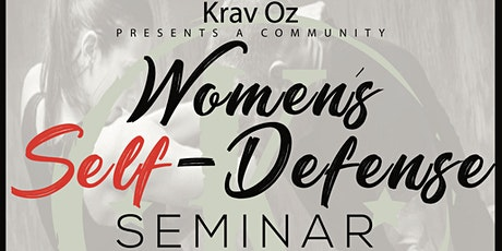 Women's Self-defense Seminar tickets