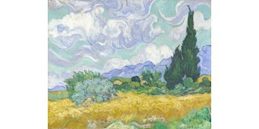 Van Gogh Wheat Field Landscape 16x20 Canvas Workshop- Buford