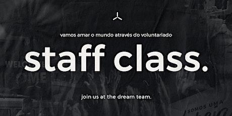 Staff Class   2020 ingressos