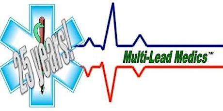 """""""Multi Lead Medics"""" 12/15 Lead ECG Mastery tickets"""