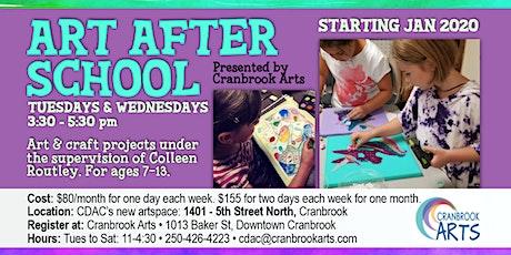 Art After School ONE DAY A WEEK (TUESDAYS) tickets