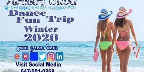 Group Fun Dance Trip to Varadero, Cuba tickets