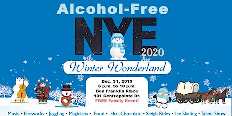 Alcohol-Free New Year's Eve 2020 tickets