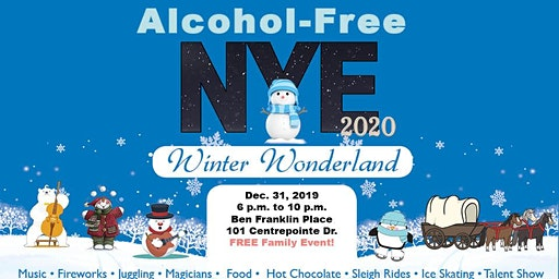 Alcohol-Free New Year's Eve 2020